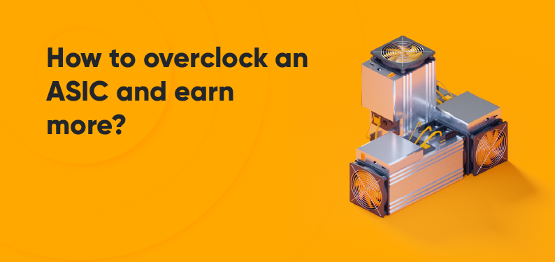 HiveOS — How to overclock an ASIC and earn more?